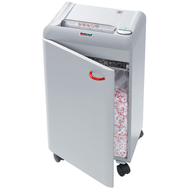 Discontinued destroyit 2404 strip cut paper shredder for 13 20 paper jam check rear door