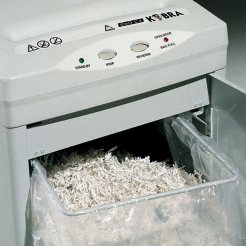 Kobra 260 S5 Strip Cut Paper Shredder