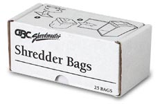 Paper Shredder Bags for GBC 5X, 6X, and 7X